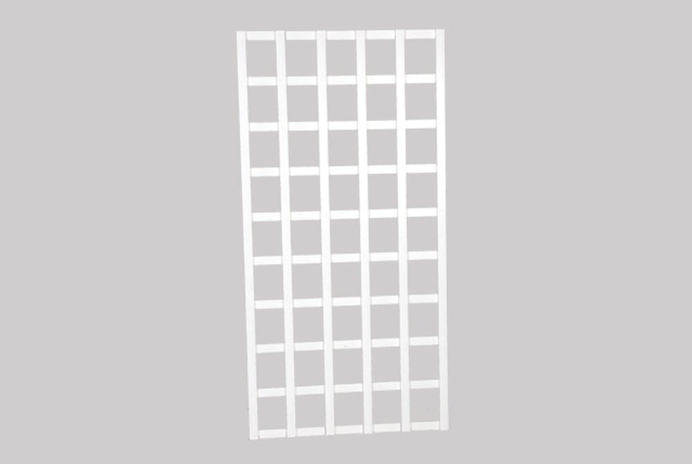 Köynnösritilä, valkoinen 80 x 180 cm