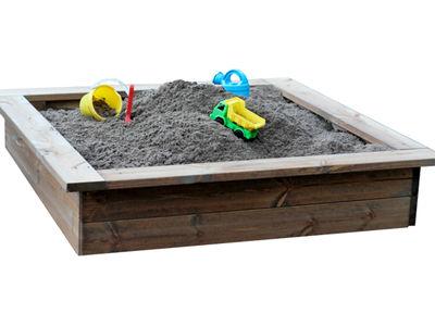 Jämerä hiekkalaatikko, 180 x 180 cm
