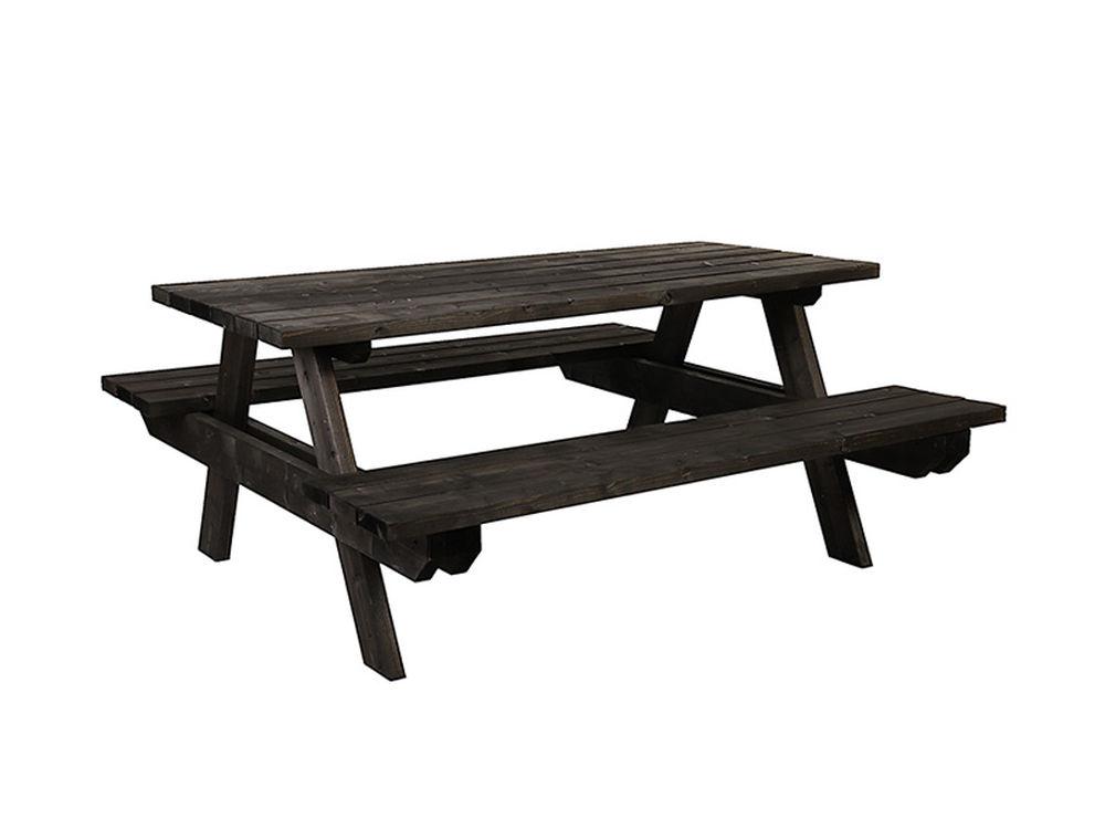 Piknikki penkki, 77 x 170 x 170 cm